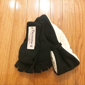 NWT BearPaw Gloves and Earwarmer Headband  Set